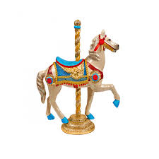 circus carousel horse decoration