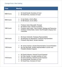 Business Trip Agenda Template Business Itinerary Template 7 Download Free Documents In Pdf Excel