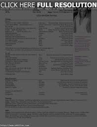 Theater Resume Template - Jmckell.com