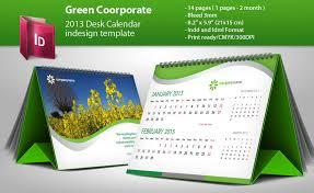 2016 desk calendar indesign template by g crew