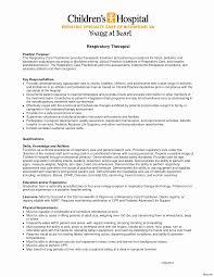 Five Respiratory Therapist Resume Sample Image Gallery Website