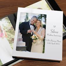 Wedding Anniversary Personalised Photo Album Available For Silver
