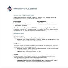 Sample Usajobs Resume Sample Resume For Sample Usajobs Resume ...