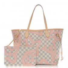 louis vuitton used bags. louis vuitton damier azur tahitienne neverfull mm louis vuitton used bags