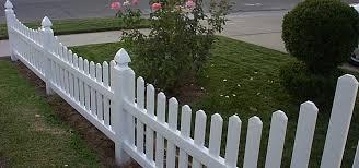 Vinyl Picket Fence in Orange County Finyl Vinyl Building Products