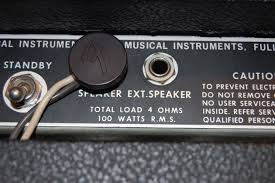 ask amp man from silverfaces to silvertones premier guitar on most older fender combo amps the output transformer impedance is optimized for the combo s particular speaker load so hooking up an external cab causes