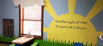 church nursery wall decorating ideas