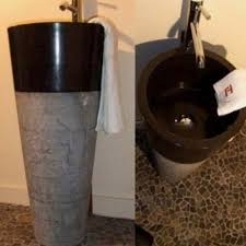 Marble pedestal sink Carrara Marble Company Details Home Reviews Black Marble Pedestal Sink Rs 35500 pieces Trade Link Id