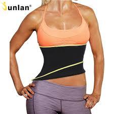 Weight Loss For Women Us 10 85 51 Off Junlan Slimming Belt Neoprene Corset Waist Trainer Body Shaper For Weight Loss Women Shapewear Modeling Strap Reduce Bodysuit In