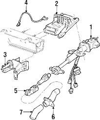 parts com® chevrolet venture steering column assembly oem parts 2002 chevrolet venture ls v6 3 4 liter gas steering column assembly