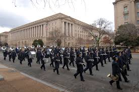 u s department of defense photo essay members of the u s air force band down constitution avenue during the 56th presidential inauguration