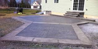 stamped concrete patio with stairs. Modren Patio Stamped Concrete Patio And Steps Moscow Pa And With Stairs