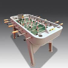 table football. customise the players, then take your gaming outside with this football table