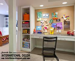 furniture for a study. Create Creative Study Space For Kids Room, Ideas, Furniture Room A R