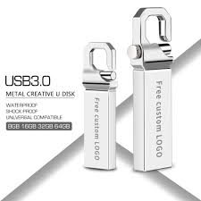 Black Leather <b>USB Flash Drive</b> Custom Pendrive 16GB 32GB ...