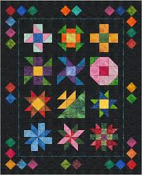116 best Quilts Primary Colors images on Pinterest | Hand crafts ... & This classic beginner sampler quilt from Morning Glory Designs walks you  step by step through each block and all the techniques needed to make them  with ... Adamdwight.com