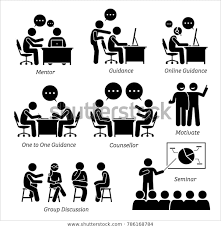 Mentor Guidance Coach Business Executive Companyのイラスト素材