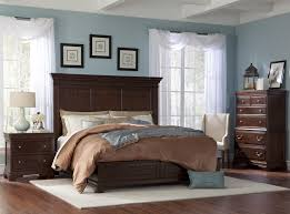 Provence Bedroom Furniture King Panel Bed W Low Profile Footboard By Cresent Fine Furniture