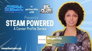STEAM Powered: Morgan Fritz, Career Profile of a UI/UX Designer at Pixar |  #STEAMtheStreets - YouTube