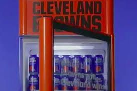 Browns Fans Open Bud Light Fridges To Celebrate A Win With