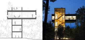 tower house plans modern fire lookout observation deck watch soiaya floor with towers melana janzens blog modernr luxihome what to expect from your