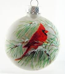 Hand Decorated Christmas Balls Extraordinary Inspiration Cardinal Christmas Ornaments Meaning To 85