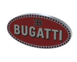 Bugatti Logo   3D CAD Model Library   GrabCAD