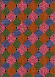 Courthouse Steps Quilt Pattern: Fast and Fun Beginner Quilt & Courthouse Steps Quilt - Color Variation #2 Adamdwight.com