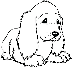 Realistic Dog Coloring Pages Cute Dogs Free Printable Puppy Page Pa