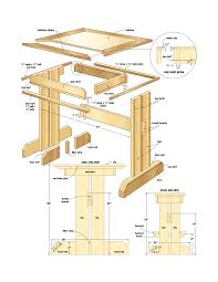 Kitchen Table Plan Woodworking Plans Breakfast Nook Good Woodworking Projects Qq9