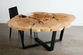 what a month and new showroom live edge intended for popular coffee table rounded edges