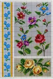 De 2435 Bedste Billeder Fra Cross Stitch Flowers I 2019