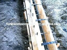 concrete wall ties for plywood