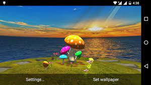 3D Mushroom-Sun Live Wallpaper 1.1 ...
