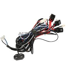 quad row light bar wiring harness dual switch (special fit x Dual Wiring Harness quad row light bar wiring harness dual switch (special fit light bar in 60w dual wiring harness diagram