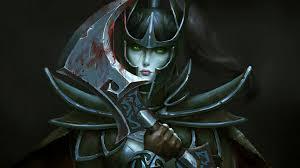 phantom assassin dota 2 girl wallpaper 4127