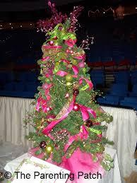 Pink and Green Christmas Tree