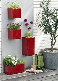 three cool wall planters with regard to outdoor designs 17