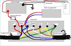 trailer lights wiring diagram 6 pin kanvamath org trailer light kit wiring instructions trailer junction box 7 wire schematic