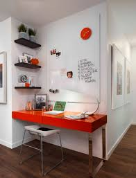 Creative workspace ideas: Turning a small unused corner into a modern desk  space
