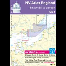 Water Charts App Uk 4 Nv Atlas England Selsey Bill To London