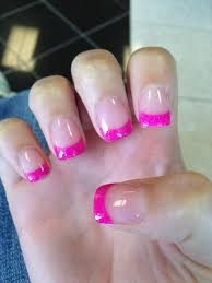 hot pink solar nails lovely in 2019 creative nail design