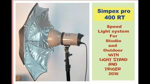 Simpex Studio Light 23 Rt Price Simpex Pro 400rt L Studio Light Unboxing And Review Hindi Best Indoor And Outdoor Light 2018 L