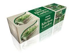 Kitchen Windowsill Herb Garden Kitchen Herb Wooden Planter Window Sill Box Garden Plant Pot Kit