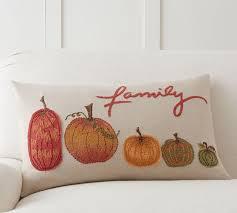 Pumpkin Family Lumbar Pillow Cover