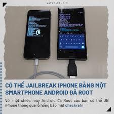 Vật Vờ Studio - CÓ THỂ JB IPHONE BẰNG MÁY ANDROID ĐÃ ROOT Nghe có vẻ hư cấu  nhưng điều này là sự thật, mới đây các lập trình viên XDA đã