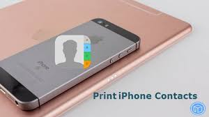 How To Print Out My Iphone Contact List