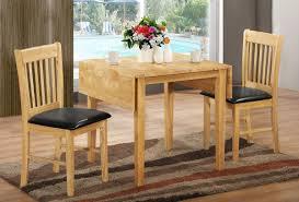 furniture drop leaf pedestal dining table antique round white