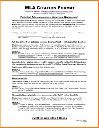 014 Essay Example Citing Sources In An Collection Of Solutions Mla