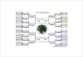 Diagram For Family Tree Family Tree Diagram Template 15 Free Word Excel Pdf Free